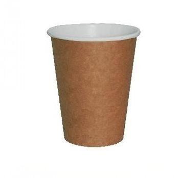 VASO CAFÉ PARA LLEVAR CON ACABADO KRAFT - 270 ML