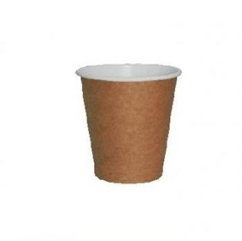 120 ML - VASO CAFÉ PARA LLEVAR  ACABADO KRAFT