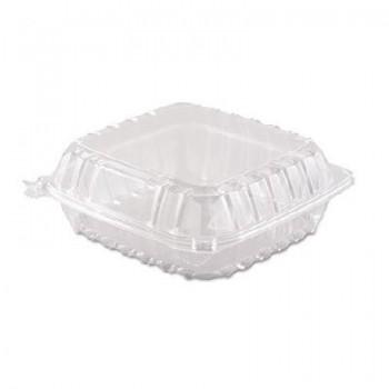 BOX TRASNPARENTE CON TAPA BISAGRA - 210x210 (250 unidades)