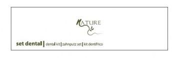 LÍNEA  NATURE - KIT DENTAL DE CEPILLO Y TUBO
