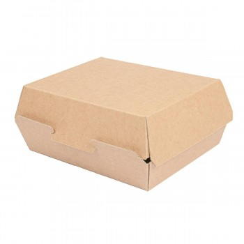 CAJA LUNCH BLANCA/NATURAL THEPACK  - 225/190x180/145x90 MM