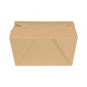 BOX MENÚ ESTANCO KRAFT THEPACK - 127/112x115/90x64 MM