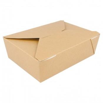 BOX MENÚ ESTANCO KRAFT THEPACK - 217/198x160/140x64 MM