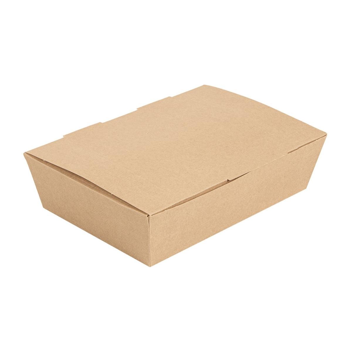 BOX LUNCH KRAFT THEPACK - 200x140x50 MM