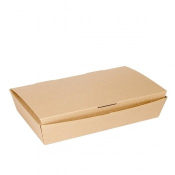 BOX LUNCH KRAFT THEPACK -  270x165x50 MM