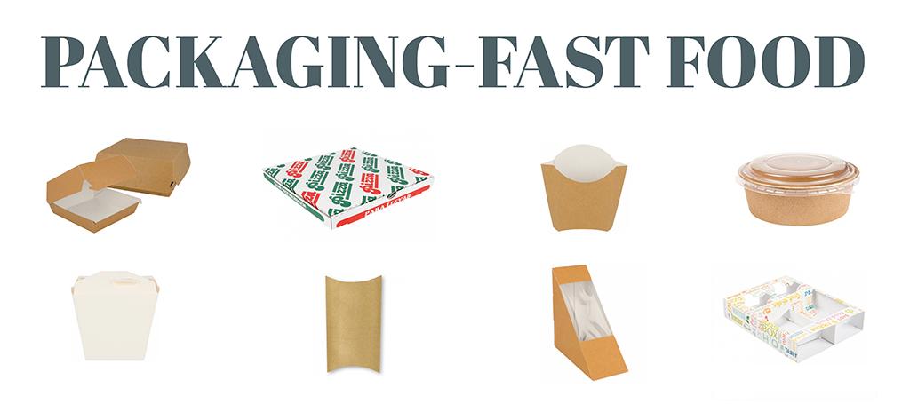 packaging fast food asturias